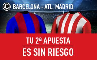 sportium Apuesta Sin Riesgo Barcelona v Atletico Liga 21 septiembre
