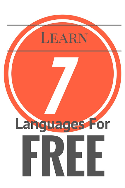 Life With 4 Boys: 7 Languages You Can Learn for Free this