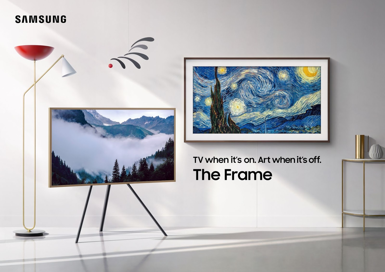 Samsung Malaysia Electronics New Lifestyle TV Series - The Sero, The Serif and The Frame.