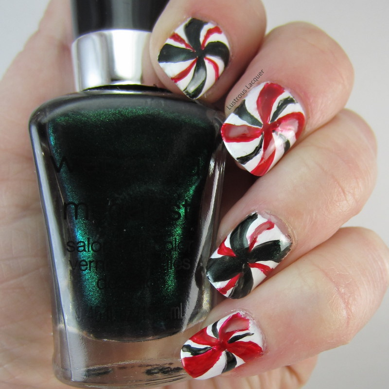 The 12 Days Of Christmas Nail Art Challenge Day 7 Red And Green