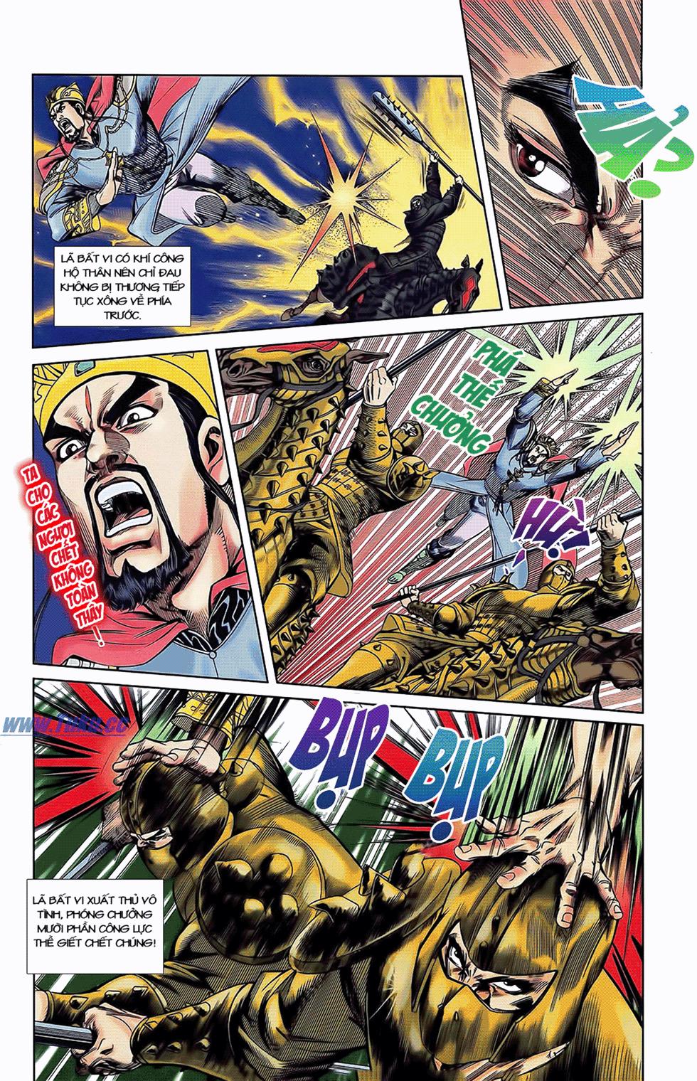Tần Vương Doanh Chính chapter 5 trang 19