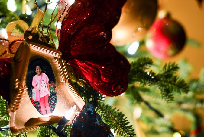 DIY Christmas ornament for young children