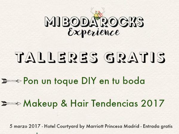 Reserva Talleres Gratis Mi Boda Rocks Experience Madrid