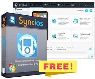 برنامج, مدير, اجهزة, ايفون, وايباد, وايبود, Syncios, اخر, اصدار