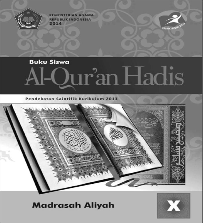 Blog Ilmu Matematika Buku Al Qur An Hadits Kelas 10 Kurikulum 2013 Oleh Yoyo Apriyanto Phone
