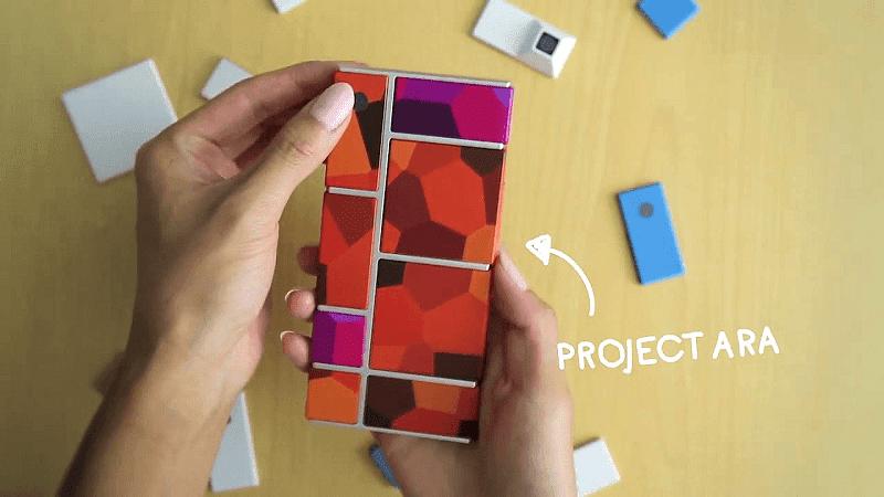 project ara adalah ponsel bongkar pasang