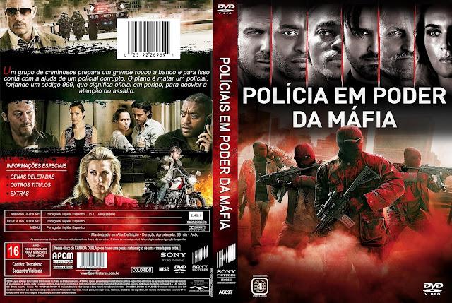 Capa DVD Polícia Em Poder Da Máfia