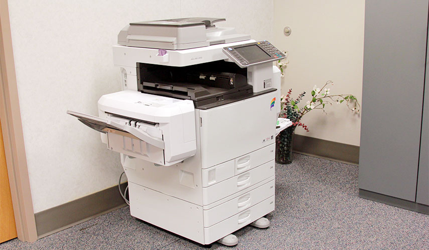 copy machine cleaning
