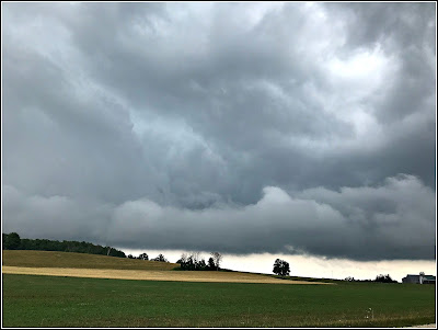 July 24, 2018 Driving through sever thunderstorms