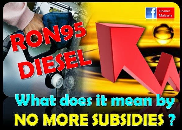 Finance Malaysia Blogspot: RON95 Petrol: What does it mean by NO MORE SUBSIDIES