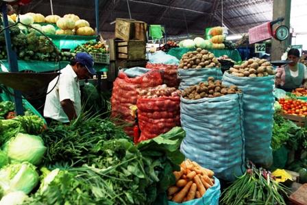 Alimentos en Bolivia