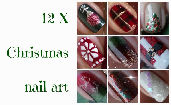 12 X Christmas Nail Art Beautyill