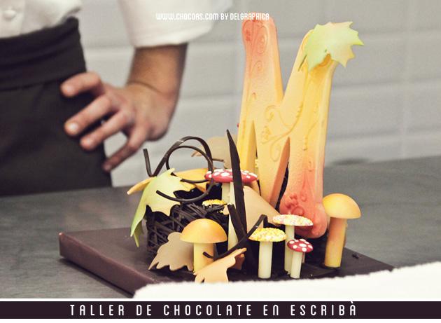 figura chocolate escribà