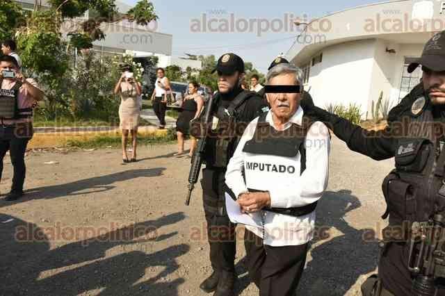 Detienen a Pascual Lagunes, líder sindical de Tamsa en Veracruz