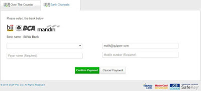 Pembayaran Quipper Video Melalui Indomaret