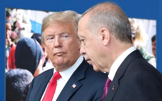 Ερντογάν σε Τραμπ: Θα εξοντώσω ό,τι απομένει από το Ισλαμικό Κράτος στη Συρία