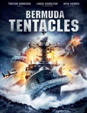 Poster Of Bermuda Tentacles 2014 Dual Audio 720p BluRay [Hindi - English] ESubs Free Download Watch Online downloadhub.in