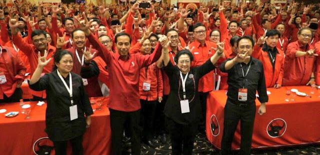 Jokowi Ditinggal Relawan untuk Pilpres 2019, Mantan Sebut PDIP Ketakutan