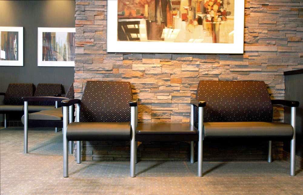 Foundation Dezin & Decor... Office Waiting zone Furniture.