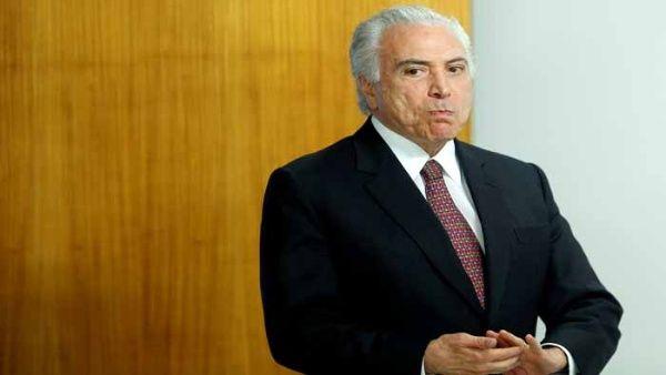 Más del 80 % de brasileños rechaza gestión de Temer