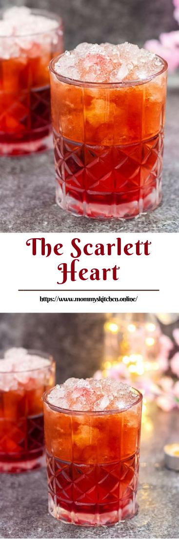 The Scarlett Heart #valentinedrink #easycoktail
