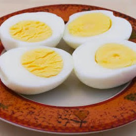 Two Easy Methods for Perfect Hard-Cooked Eggs (and Recipe Ideas Using Hard-Boiled Eggs) found on KalynsKitchen.com