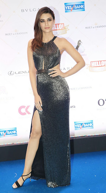 Kriti Sanon at Hello! Hall Of Fame Awards 2018