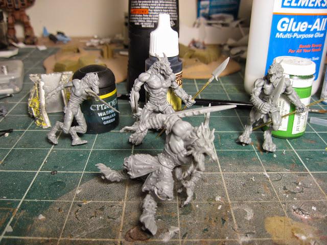 Wrath of Kings Skorza Skirmishers