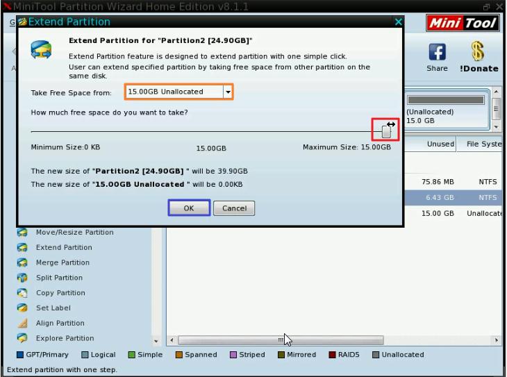 VirtualBox教學:重設硬碟(.vdi)大小(下) | 自學程式誌