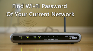 How to Find the Wi-Fi Password of your Current Network