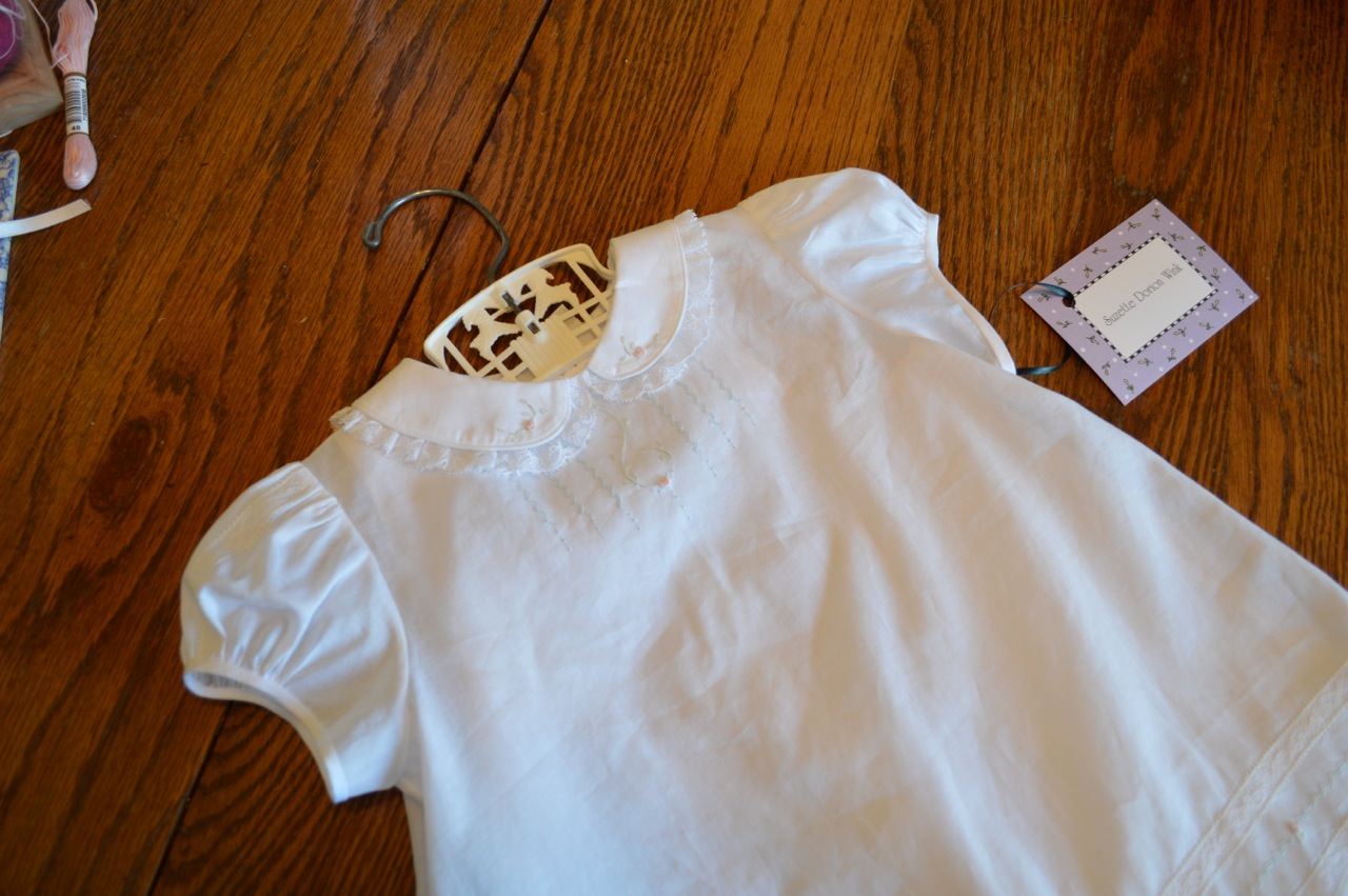 The Old Fashioned Baby Sewing Room Best Embroidered Baby