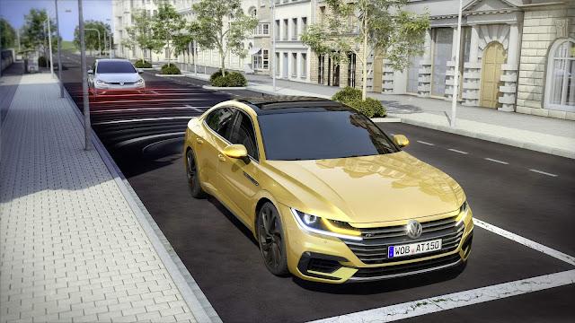 VW Arteon: sistema preventivo de pré-colisão aprimorado