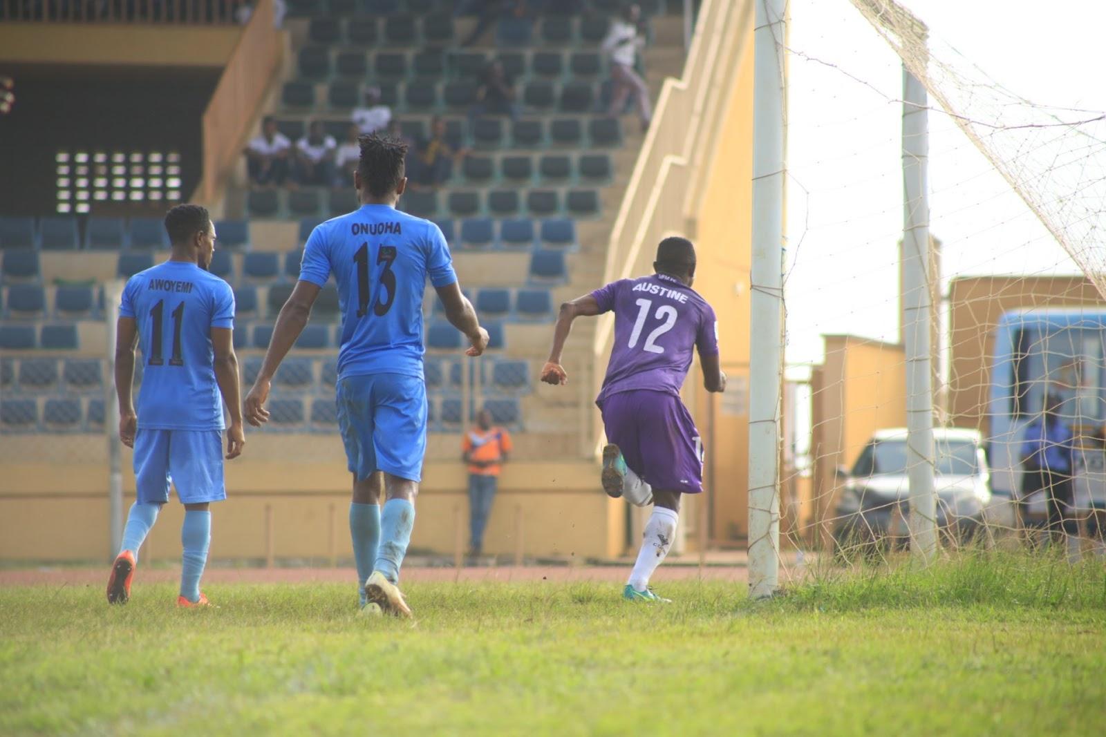 Ogunye Austine strike earns MFM FC second away win in Sagamu