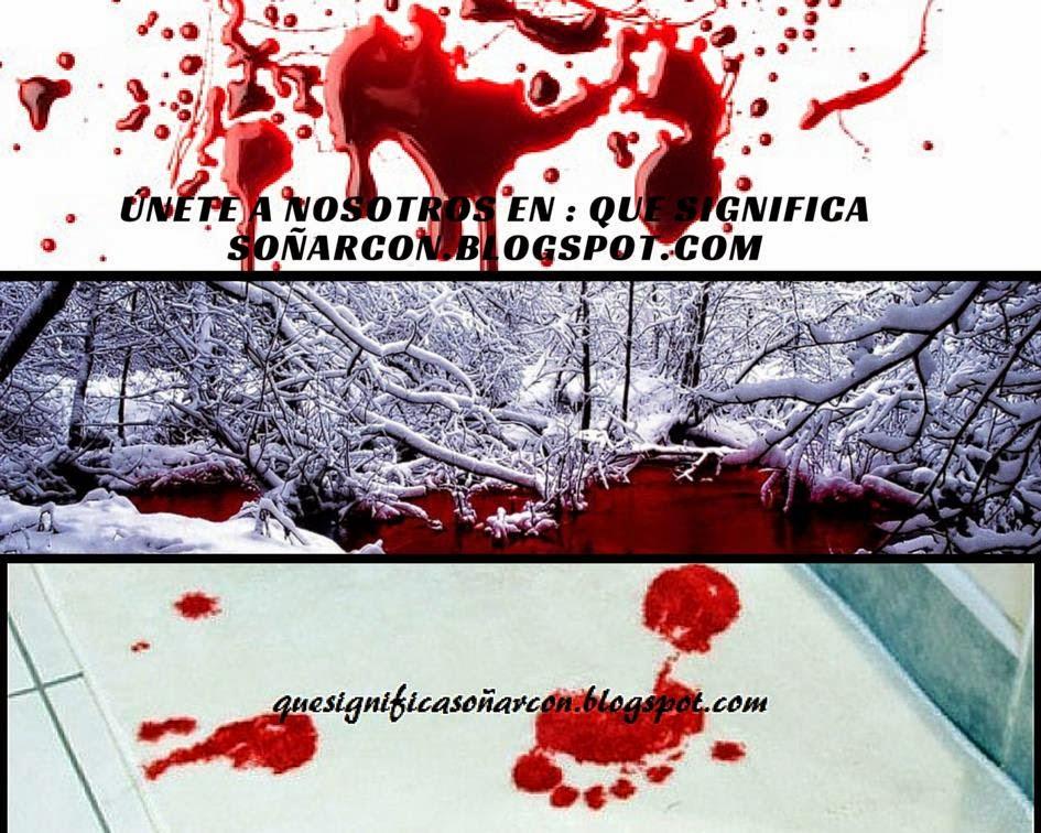 porque soñamos con sangre