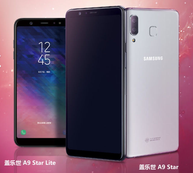 Samsung started pre order of Samsung A9 Star and A9 Star Lite in China