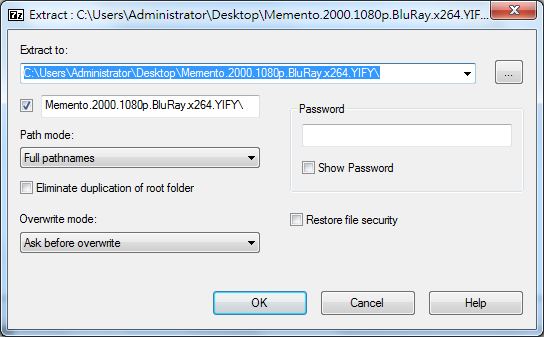 Image%2B002 - 7-Zip 16.04 免安裝繁體中文版 - 免費小巧又快速的解壓縮軟體