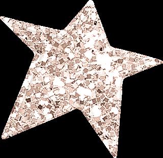Estrellas del  Clipart Encantadora Navidad.