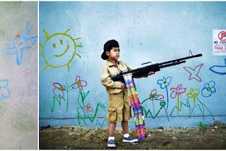 Photo : You are not Banksy, le photographe Nick Stern reproduit les scènes des graffs de Banksy