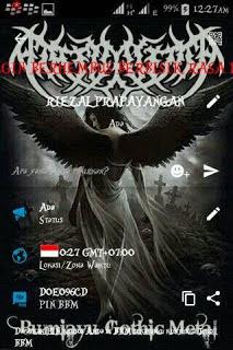 BBM Mod Gothic Black Metal Versi Terbaru 2016
