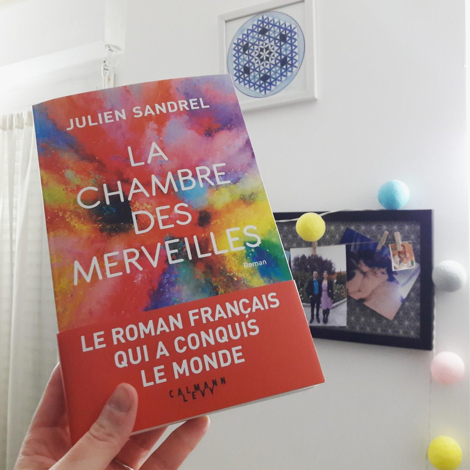 Coup de cœur : La chambre des merveilles de Julien Sandrel
