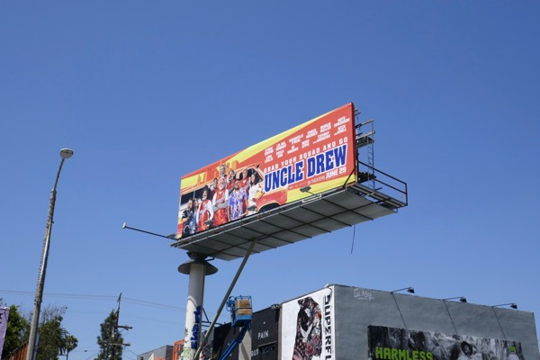 Uncle Drew film billboard