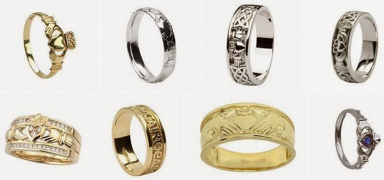Claddagh Wedding Ring Sets ~ Diamond Engagement Rings for ...