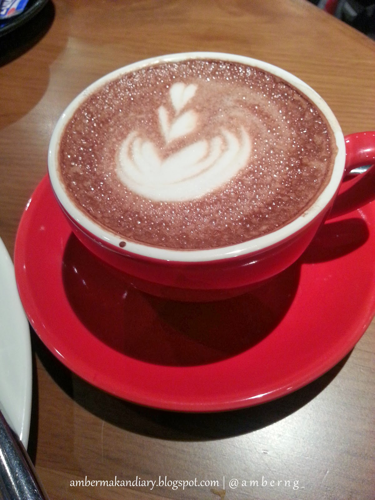 Hot Chocolate at Artisan Boulangerie Compagnie, ABC Cafe