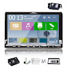 Pupug 7-Inch Touch Screen Built-in Bluetooth Mic Car Stereo DVD Player with GPS IPOD, Remote Control and Accessories