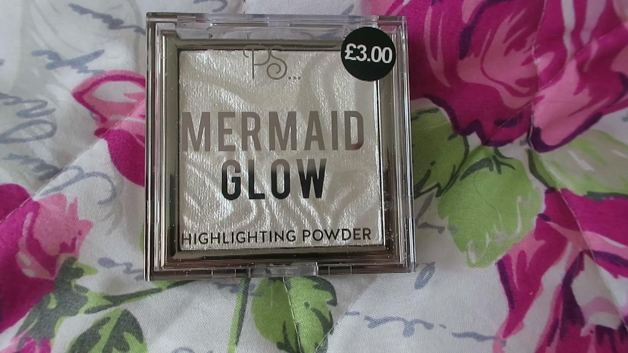 primark mermaid glow highlighter review