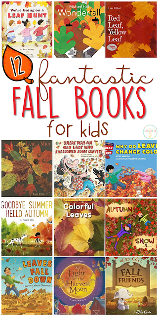If you are planning a fall theme in your classroom or homeschool, you'll definitely want to check out these great fall picture books! Lots of great titles and ideas for incorporating comprehension and writing skills too.