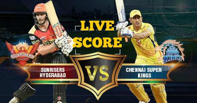 IPL 2018 Match 46 CSK vs SRH Live Score and Full Scorecard