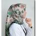 Jilbab Segi Empat Motif Batik Sutra Halus MURAH Terbaru