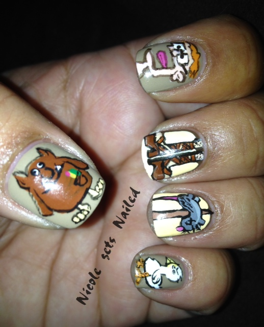 Nail Art Game: Nicole Gets Nailed: Geekn' Out Munchkin Style