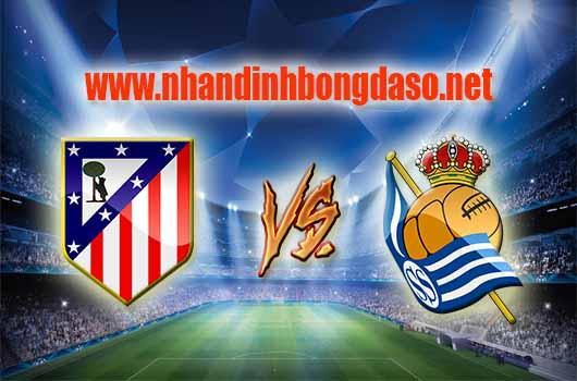Nhận định bóng đá Atletico de Madrid vs Real Sociedad, 03h30 ngày 05/04
